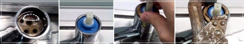 ремонт смесителя своими руками шаг 4