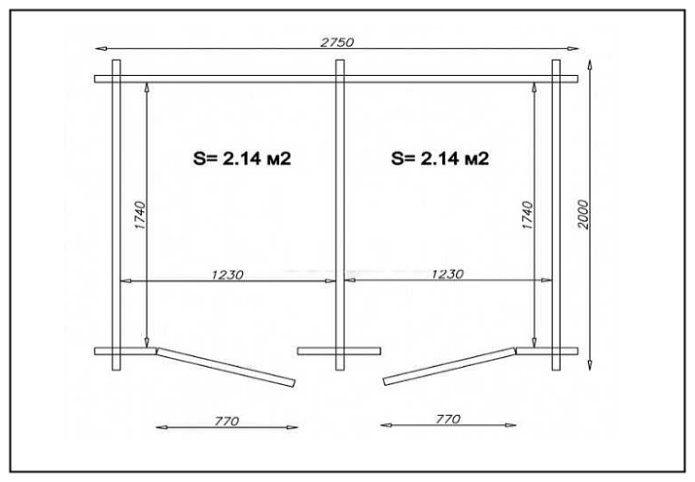 Как построить душ и туалет на даче своими руками чертежи 52