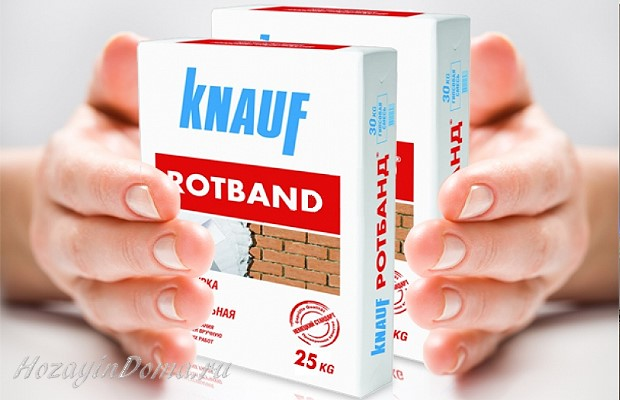 штукатурка Ротбанд Кнауф
