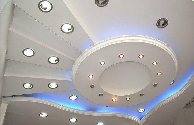 Красивый подвесной потолок