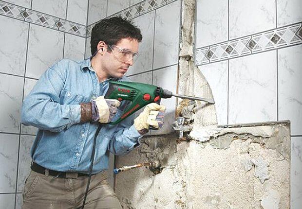 Как поменять одну плитку в ванной своими руками фото 303