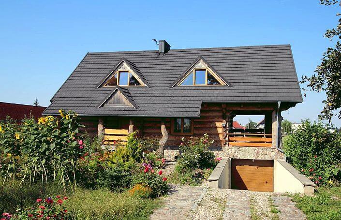 красивый дом из дерева дёшево