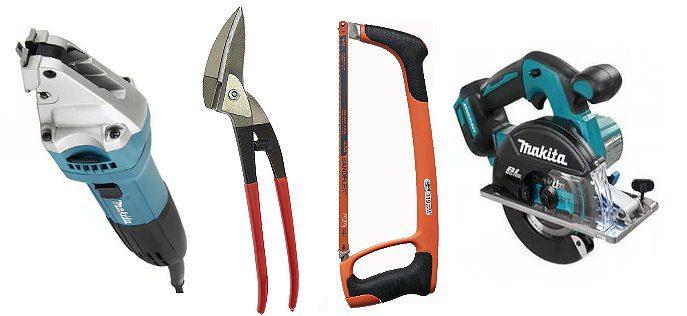 Инструменты для резки метала