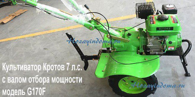 Мотокультиватор кротов G170F