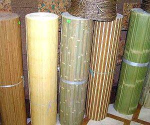Натуральные обои из бамбука