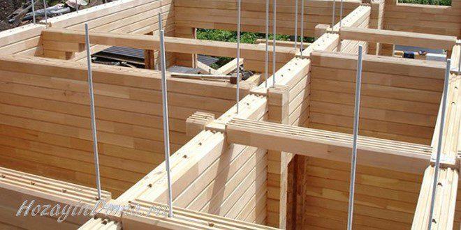 Строительство дома из бруса