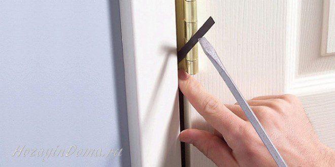 Что делать если дверь провисла?