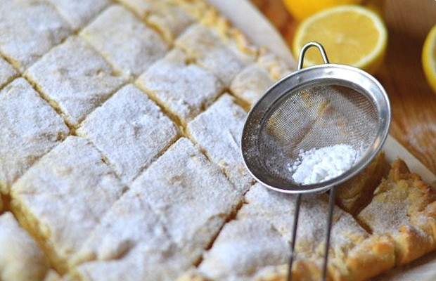 Готовый пирог лимонник