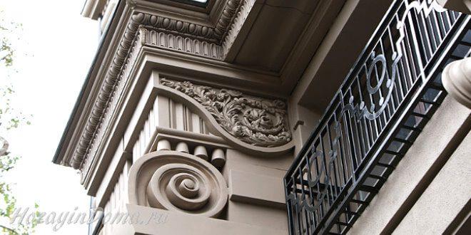 Чем хорош фасадный декор из стеклофибробетона?