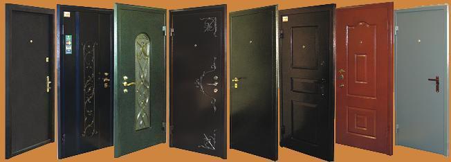 Крашеные двери
