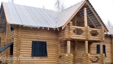 Photo of Дома из оцилиндрованного бревна на долгие года