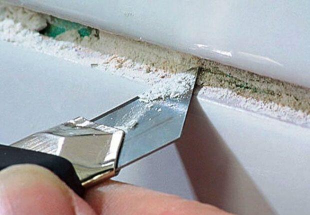 Как аккуратно снять плитку