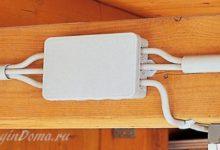 Photo of Электропроводка в деревянном доме