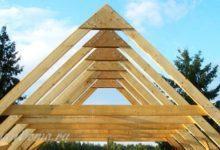 Photo of Как построить двускатную крышу на дом или баню