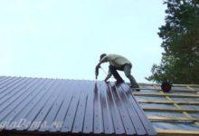 Photo of Как сделать крышу из профнастила для дома из бруса