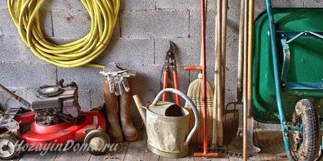 важные садовые инструменты