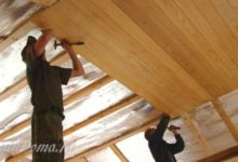 Photo of Устройство потолка в деревянном доме из бруса