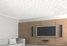 Photo of Гипсовая плитка для внутренней отделки потолка