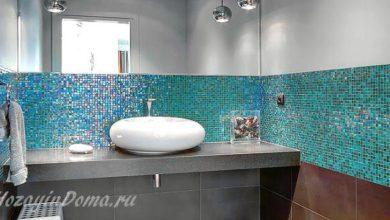 Photo of Декоративная мозаика в ванной комнате