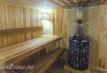Photo of Выбор материала для внутренней отделки бани