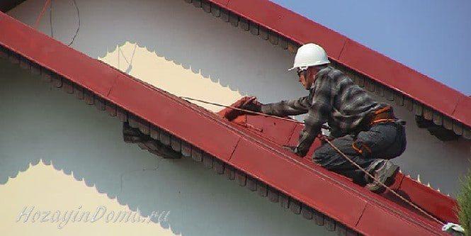Специалист по ремонту крыши