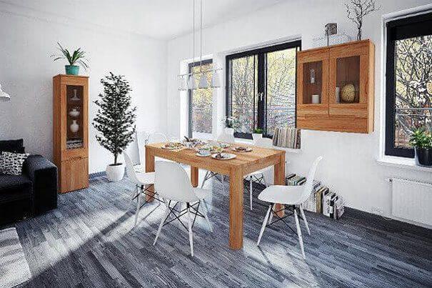 Обеденный стол прямоугольной формы-2